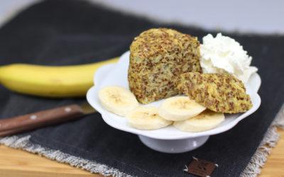 Ovesný hrníček s banánem a quinoou