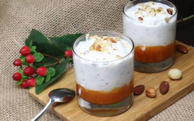 Pohankovo-quinoový dezert přes noc